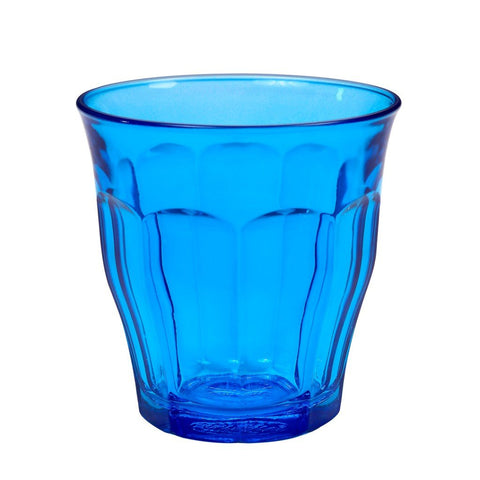 Picardie Coloured Glass Tumblers, 25cl, Mixed Set of 6 Colours | BuyMeOnce UK
