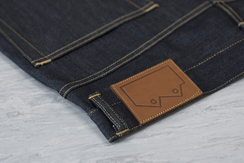Men's E5 Relaxed Tapered Jean, 12oz Indigo Selvedge