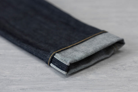 Men's E8 Slim Tapered Jean, 14oz Japanese Indigo Selvedge - BuyMeOnce Direct - BuyMeOnce UK