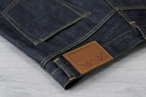 Men's E8 Slim Tapered Jean, 14oz Japanese Indigo Selvedge