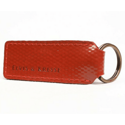 Reclaimed Fire Hose Key Ring