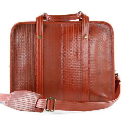 821518cad32 Elvis & Kresse Reclaimed Fire Hose Compact Briefcase, Black | BuyMeOnce.  Next