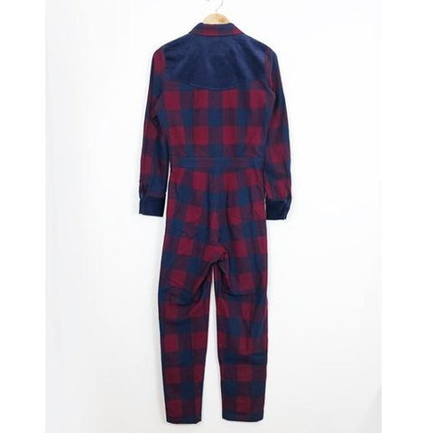 Buffalo Check Jumpsuit