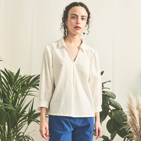 Broderie Poets Blouse - BuyMeOnce Direct - BuyMeOnce UK