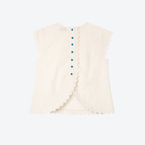 Broderie Split Back Top - BuyMeOnce Direct - BuyMeOnce UK