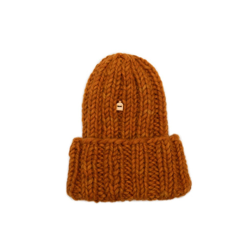 Muffi Woolly Hat, Autumn Orange
