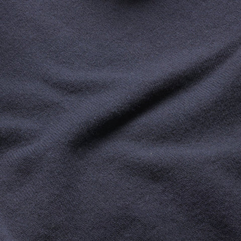 Lambswool Fine Knit Crew Neck Jumper, Navy