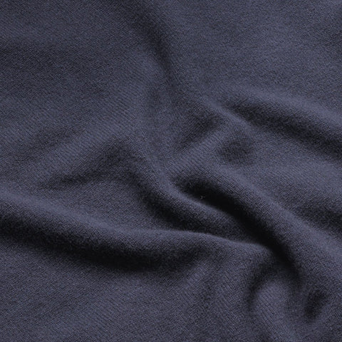 Lambswool Fine Knit V Neck Jumper, Navy