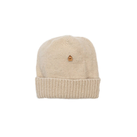 Nobles Woolly Hat, Natural White