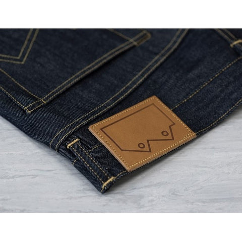 Men's NW3 Slim Straight Jean, 14oz Indigo Selvedge
