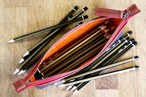 Reclaimed Fire Hose Pencil Case