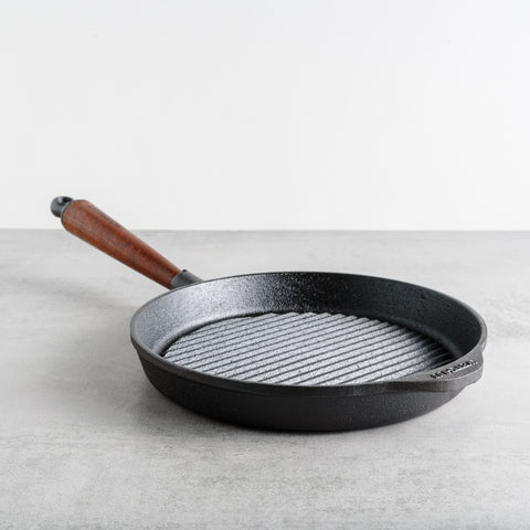 Traditional Cast Iron Grill Pan
