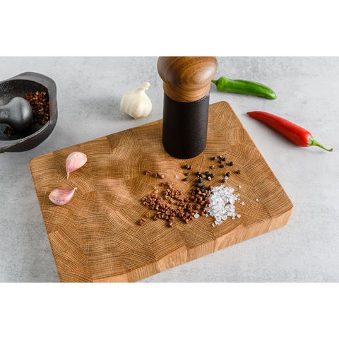 Oak End Grain Chopping Board, Small