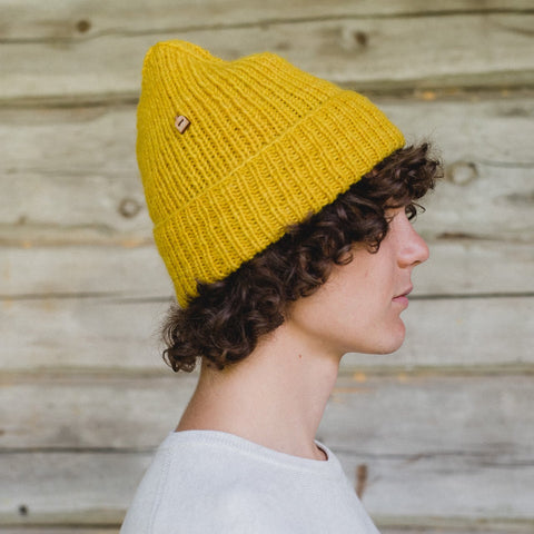 Sea A'Hoy Woolly Hat, Yellow