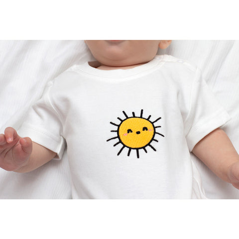 Organic Short Sleeved Baby Rompers - BuyMeOnce Direct - BuyMeOnce UK