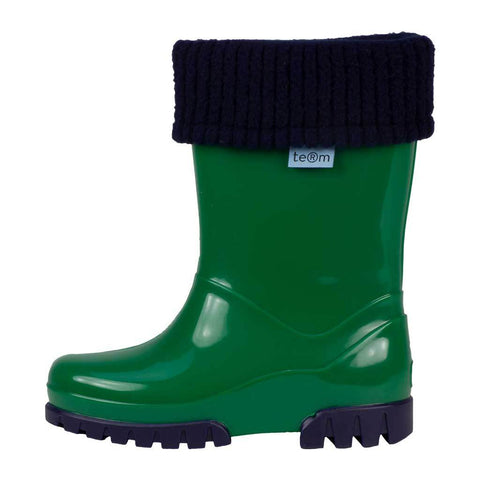 Rolltop Wellies, Green