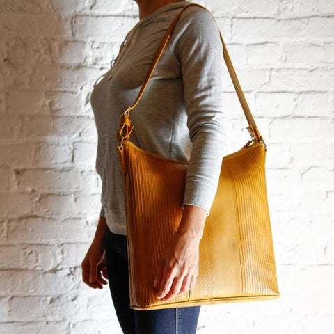 Reclaimed Fire Hose Tooley Tote Bag