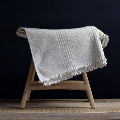 Natural Stripe Poyvi Blanket