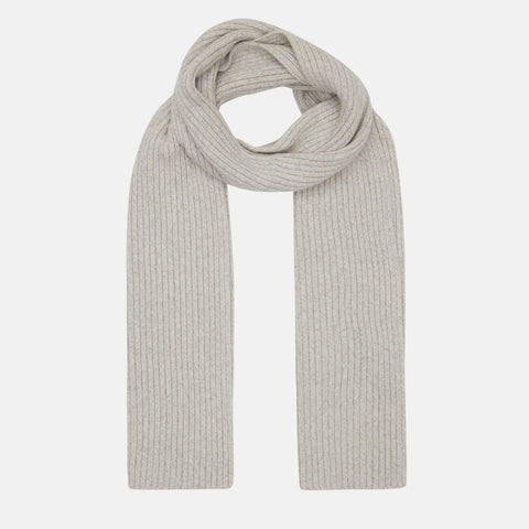 Recycled Cashmere Scarf, Cloud