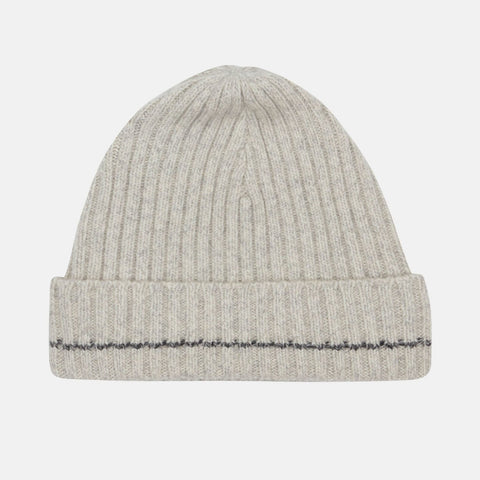 Recycled Cashmere Beanie, Cloud