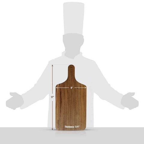 Wooden Cutting Board with Handle - BuyMeOnce Direct - BuyMeOnce UK
