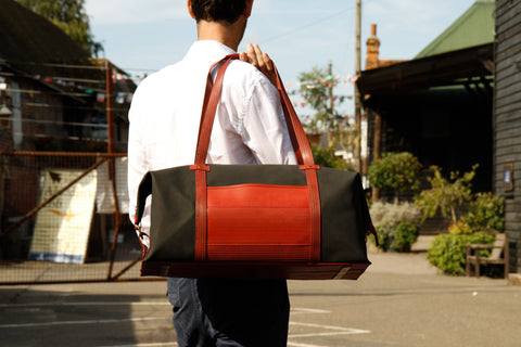 Reclaimed Fire Hose Weekend Bag - BuyMeOnce Direct - BuyMeOnce UK