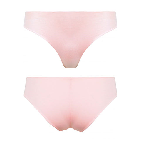 Pack of 2 Organic Cotton Seamless Knickers