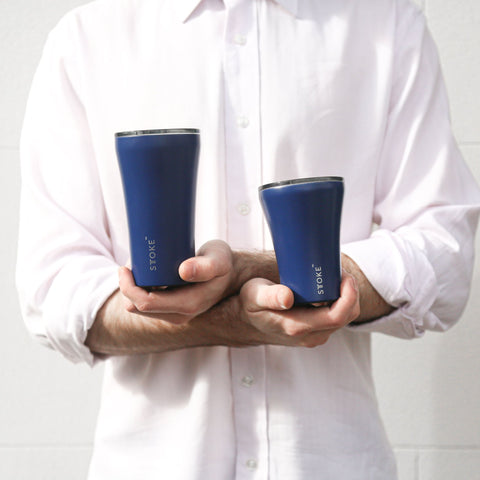 Sttoke Ceramic Coated Reusable Cup, 12oz | Buy Me Once UK