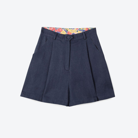 Organic Denim Shorts