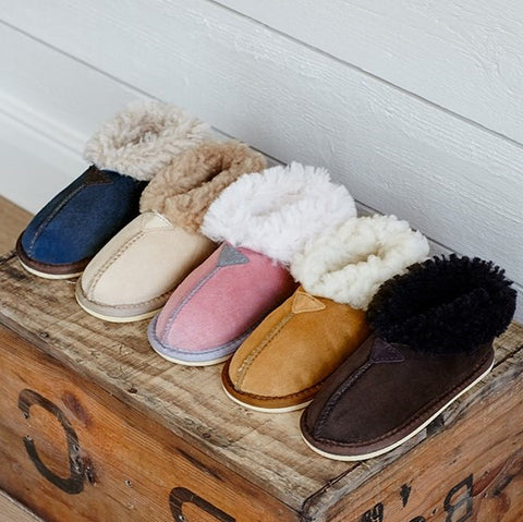 Kids Sheepskin Slippers