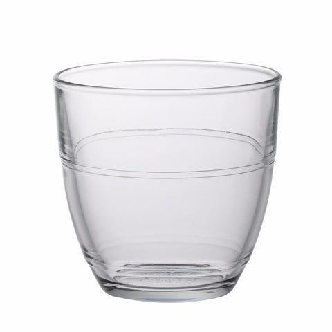 Gigogne Clear Glass Tumbler, 220ml, Pack of 6
