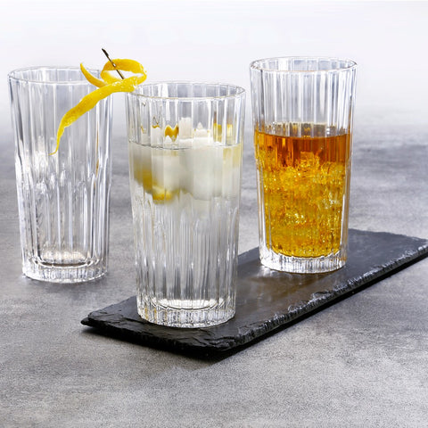 Manhattan High-Ball Glass Tumbler, Pack of 6 - BuyMeOnce Direct - BuyMeOnce UK