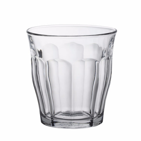 Picardie Clear Glass Tumbler, 310ml, Pack of 6