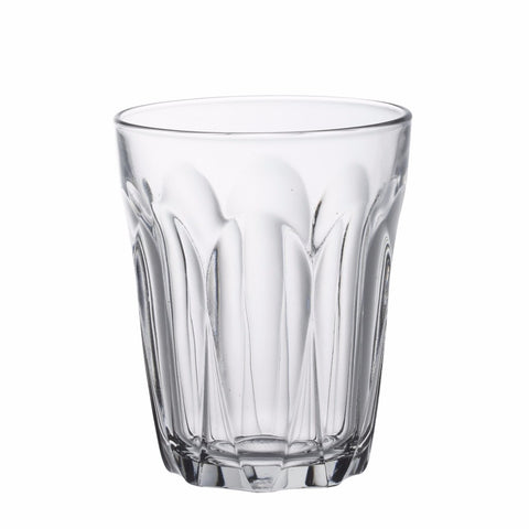 Provence Clear Glass Tumbler, 220ml, Pack of 6