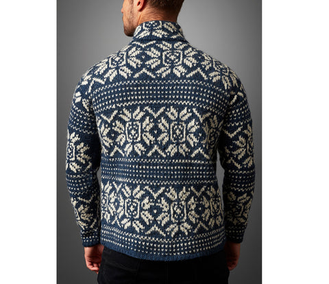 Edmund Knit Snowflake Sweater - BuyMeOnce Direct - BuyMeOnce UK