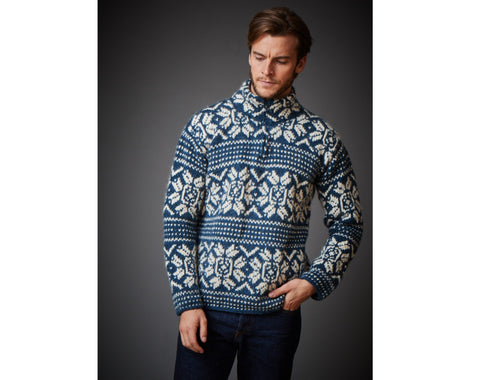Edmund Knit Snowflake Sweater