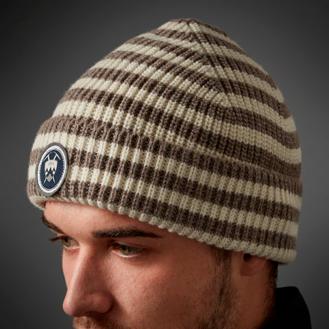 Lambswool Striped Beanie - BuyMeOnce Direct - BuyMeOnce UK