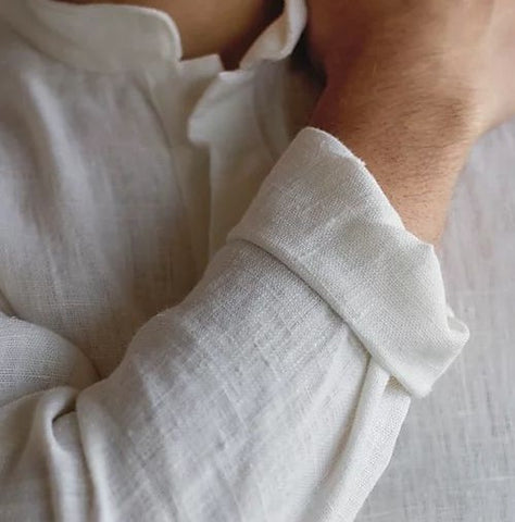 Linen Unisex Pullover Shirt - BuyMeOnce Direct - BuyMeOnce UK