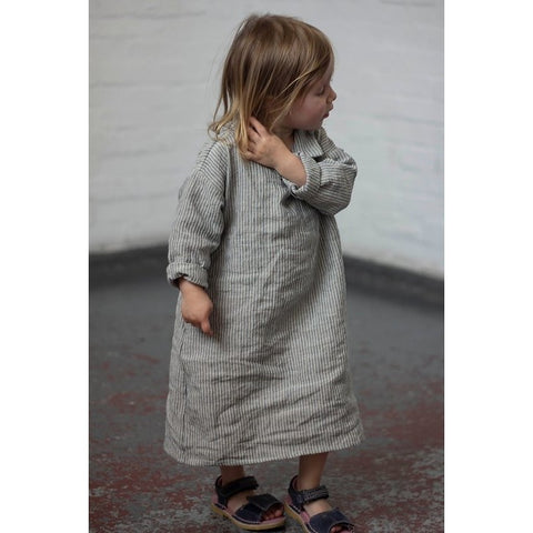 Mini-Me Matching Linen Dresses
