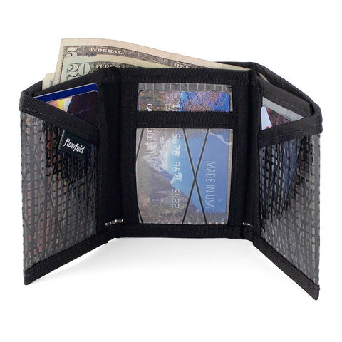 Recycled Sailcloth Traveller Trifold Wallet