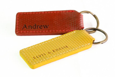 Reclaimed Fire Hose Key Ring - BuyMeOnce Direct - BuyMeOnce UK
