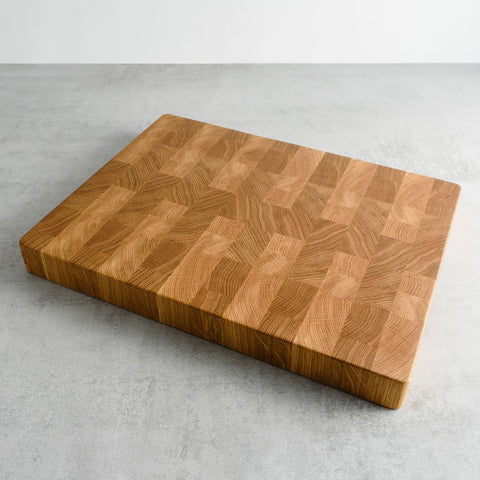Oak End Grain Chopping Board, Large