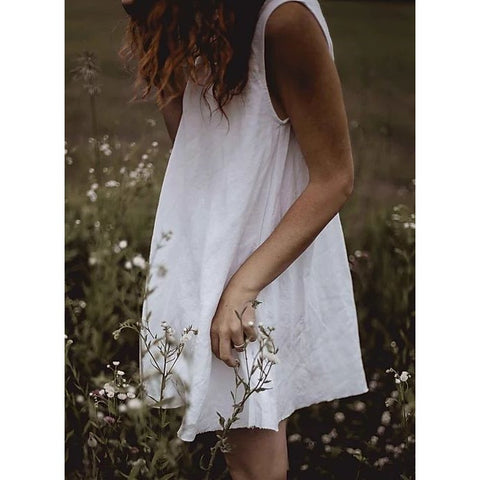 Linen Summer Dress - BuyMeOnce Direct - BuyMeOnce UK