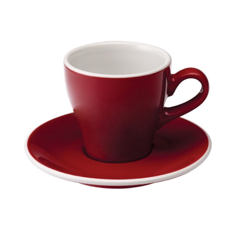 Tulip Cappuccino Cup and Saucer Set