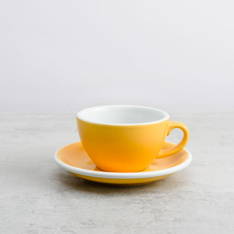 Egg Cappuccino Cup and Saucer Set