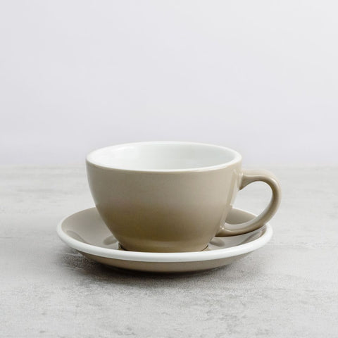 Egg Latte Cup and Saucer Set