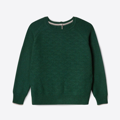 100% Recycled Cashmere Jumpigan, Forest -  - BuyMeOnce UK