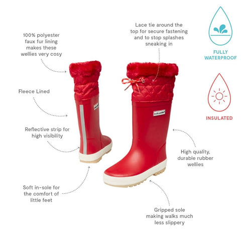 Puddleflex Fleece-Lined Wellies - BuyMeOnce Direct - BuyMeOnce UK