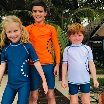 Recycled Long Sleeve All-in-One Kids' Swimsuit - BuyMeOnce Direct - BuyMeOnce UK