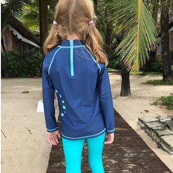 Recycled Long-Sleeved Kids' Swimming Top - BuyMeOnce Direct - BuyMeOnce UK